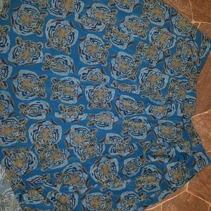 Lularoe Madison skirt TIGERS! Htf! 3xL